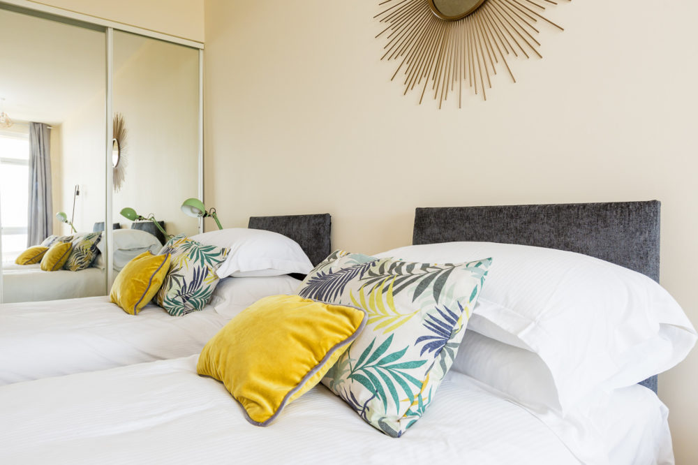 Cosy single beds