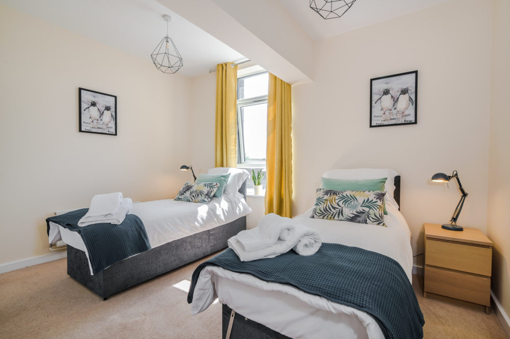 Spacious and quality single beds